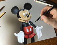 Drawing Mickey Mouse