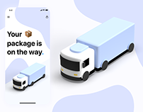 Package Delivery Screen