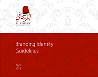 ElRihany Restaurant & Cafe brand manual