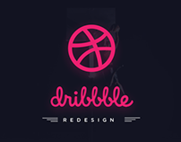 Dribbble Redesign Concept