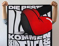 DIE BESTEN IDEEN KOMMEN BEIM/UND GEHEN — poster