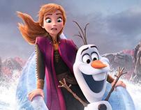 Frozen 2 Outdoor Campaign