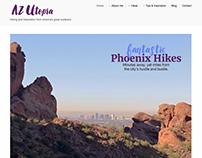 Website Design: AZUtopia