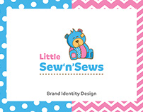 Little Sew'n'Sews Brand Identity Design