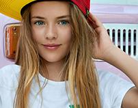 Kristina Pimenova and Alex Plushenko / InStyle magazine
