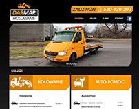 DARMAR towing website design
