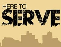 Here to Serve 2013 Collegiate Summit Flyer