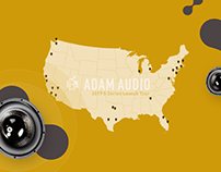 ADAM Audio | Interactive Map