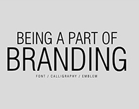 BEING A PART OF BRANDING
