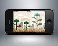 Tall Tree Forest Game background