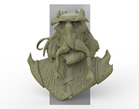 Viking Concept 3d Sketch