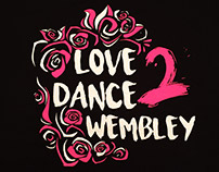 Saracen love to dance Wembley T-shirt