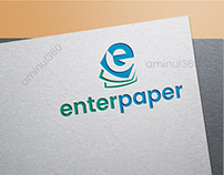 E letter logo by aminul360
