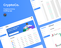 CryptoCo - Cryptocurrency Exchanging App