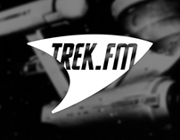 Trek.fm logotype