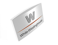 White-Westinghouse badge redesign for Electrolux