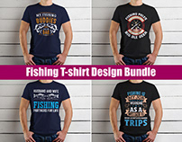 New Unique Fishing T-Shirt Design Bundle
