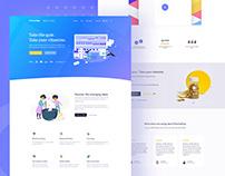 E-commerce | Landing page