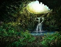 Cave Scene Design
