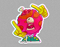 characters, stickers 2