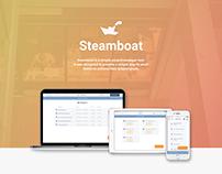 Steamboat Project detailed UX process description