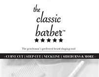 The Classic Barber™ - Beard Tool & Clipper Oil- Package
