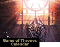 Game Of Thrones Calendar 2016