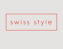 Swiss Style - Ecommerce Project - Website Mock up