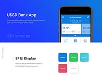 USSD Bank App