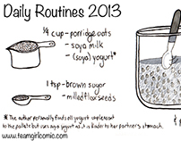 Memories and Process: Daily Routines (2013)