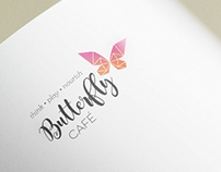 Butterfly Cafe branding