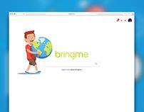 bringme - Search Engine UI (concept)