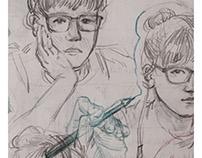 Summer 17 Study Sketchbook