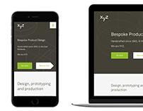XYZ Product Design (internship project)