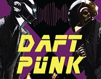 Плакат концерта группы Daft Punk