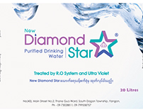 New Diamond Star Logo & Bottle Sticker