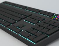 3d – model Computer keyboard