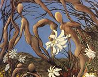 blue skies, magnolias, and us