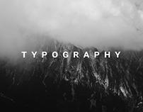 Typography Vol.1