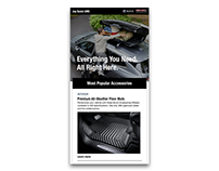 GM Accessories Email Template