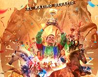 """1er Lugar: """"Concurso Afiche EL DERBY 2016""""."""