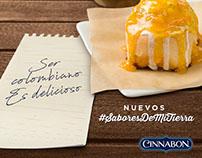 Cinnabon: Campaña #SaboresDeMiTierra 2017