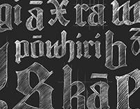Huia Typeface