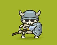 Skeleton Character - Mobile Game
