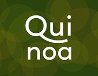 Quinoa — a warm geometric sans