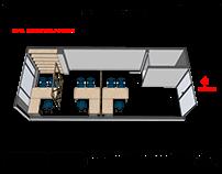 DISEÑO MOBILIARIO 2D/3D OFICINA