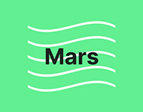 MARS - landing Page template for SaaS Software