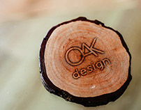 OAK DESIGN LOGO & BRANDING IDENTITY