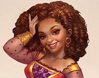 Latinamerican princess for Knight&Brides