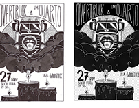 Cartaz do Show - 1/4 e Overtruck